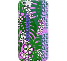 Jungle Blossom Jangle - pink iPhone Case/Skin