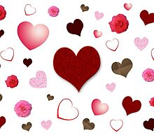 Hearts and Roses by Susan S. Kline