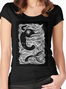 Serpent - Black Women's Fitted Scoop T-Shirt