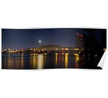 Columbia River I 5 Bridge Poster