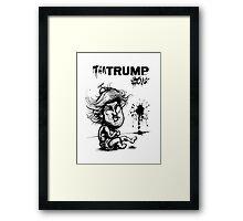 Temper TanTrump Framed Print