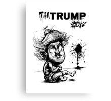 Temper TanTrump Canvas Print