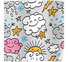 - Funny clouds 3 - Poster