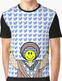 The God Of Social Media Graphic T-Shirt