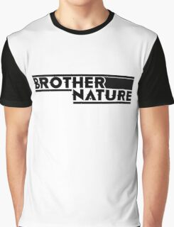 Brother Nature Logo Graphic T-Shirt