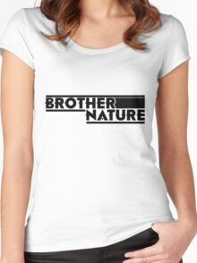 Brother Nature Logo Women's Fitted Scoop T-Shirt