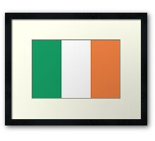 Awesome Irish Flag St. Patrick Framed Print