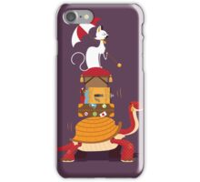 Mr Cat Takes A Journey iPhone Case/Skin