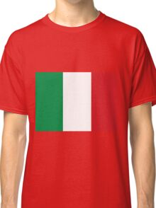 Awesome Italian Flag Classic T-Shirt
