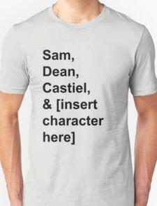 Team Free Will ft. [insert character here] [LIGHT] T-Shirt