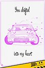 Valentine's Day Card: Drifted Into My Heart by smgstudio