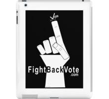 FightBackVote.com iPad Case/Skin