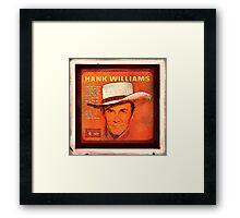 Hank Williams Album Framed Print