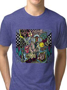 Music Doodle Tri-blend T-Shirt