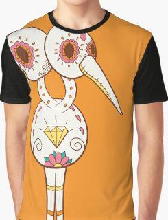 Doduo Pokemuerto | Pokemon & Day of The Dead Mashup Graphic T-Shirt