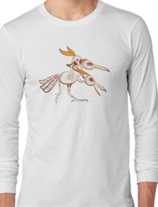 Dodrio Pokemuerto | Pokemon & Day of The Dead Mashup Long Sleeve T-Shirt