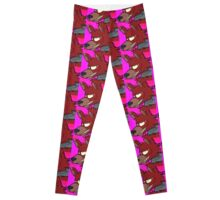 Pyrocynical Foxy The Pirate Leggings