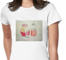 Kitchen still life Womens Fitted T-Shirt