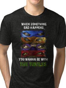 Teenage Mutant Ninja Turtles, TMNT Out Of The Shadows Tri-blend T-Shirt