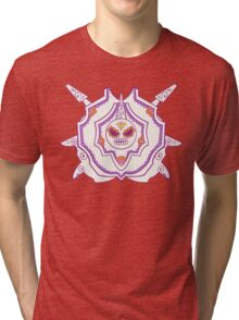 Cloyster Pokemuerto | Pokemon & Day of The Dead Mashup Tri-blend T-Shirt