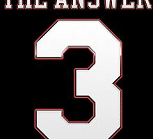 The Answer 3 Basketball Legend by MuralDecal