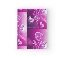 Roses and hearts design ( 3085 Views) Hardcover Journal