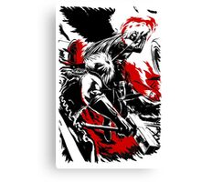 Cloud vs Sephiroth Canvas Print