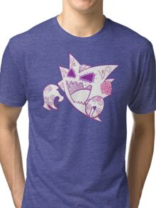 Haunter Pokemuerto | Pokemon & Day of The Dead Mashup Tri-blend T-Shirt