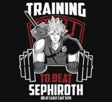 Training to beat Sephiroth by clovervin