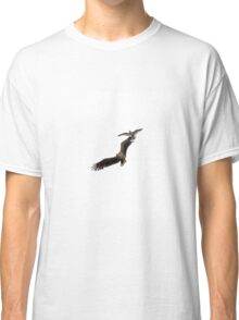 White-tailed Sea Eagle Harrassed by Herring Gull Classic T-Shirt