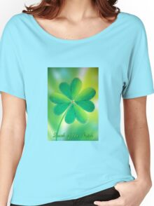 Luck of the Irish  Women's Relaxed Fit T-Shirt