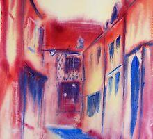 Une rue de Chateaudun by Deborah Pass