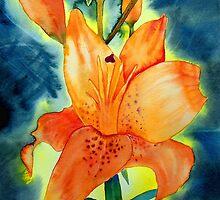 Orange Lillies by Deborah Pass