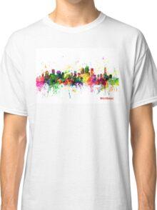 Brisbane Australia Skyline Classic T-Shirt