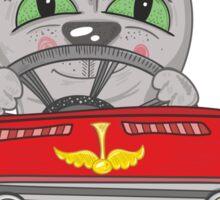 Cat on the car Sticker