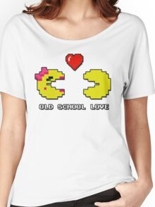 Old School Love - Ms. Pacman and Pac Man - Act I / Act One Women's Relaxed Fit T-Shirt