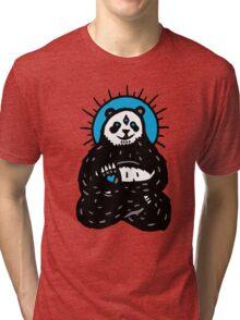 Spirit Panda Tri-blend T-Shirt