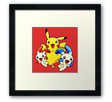 Hello pokemon Framed Print