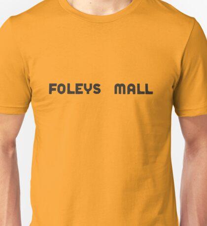 Foleys mall - charcoal Unisex T-Shirt