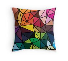 pattern triangle Throw Pillow