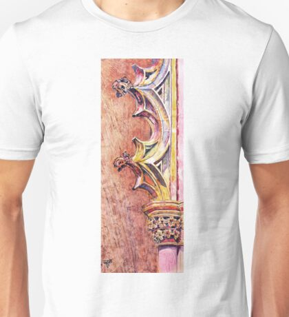 Mosteiro da Batalha. The Stone Art of Master Architects. Unisex T-Shirt