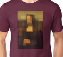 Da Vinci: Mona Lisa (computer-generated abstract version) Unisex T-Shirt
