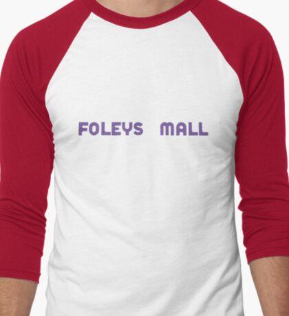 Foleys mall - purple Men's Baseball ¾ T-Shirt