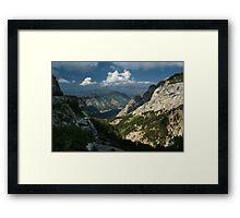 Kotor Bay Framed Print