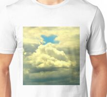 signs...a cross in the sky Unisex T-Shirt