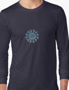 Twelve months, real snowflake macro photo T-Shirt