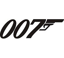 007 James Bond Photographic Print