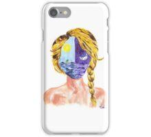 sunmoon girl iPhone Case/Skin