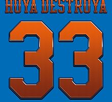 Hoya Destroya Basketball Legend by MuralDecal