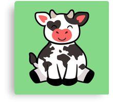 Cow Planet Canvas Print